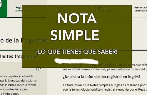 nota-simple-document